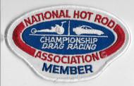 National Hot Rod Association Member Patch