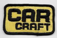 CAR CRAFT Patch