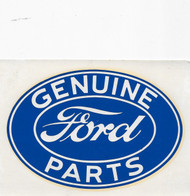 Large Vintage Ford Water Slide Decal