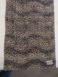 Furry Leopard Pattern Baby Blanket