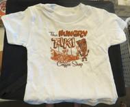 The Hungry Tiki Coffee Shop Kid's T-Shirt by Liberty Garage