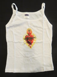 """Almera """"Electric Heart"""" Woman's Baby Doll Tee"""