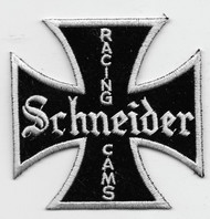 Vintage-style Schneider Racing Cams Patch