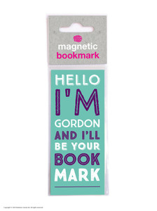 Gordon Funny Magnetic Bookmark