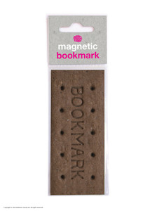 Biscuit Funny Magnetic Bookmark