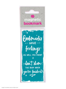 Feelings Funny Magnetic Bookmark