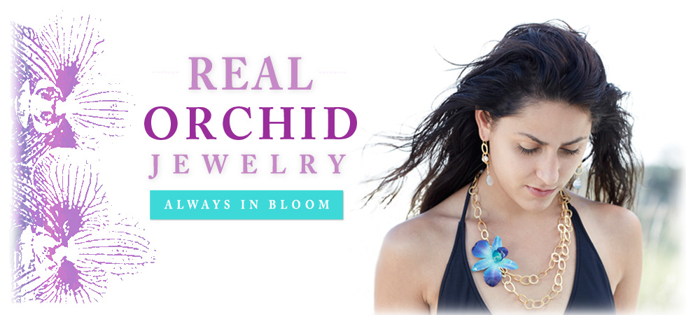 Real Orchid Jewelry
