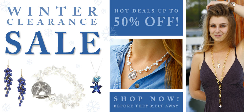 Winter Clearance Sale! Up to 50% Off!
