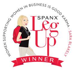 SPANX Leg Up Entrepreneurial Winner!