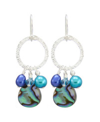 Estrella Earrings- Cobalt