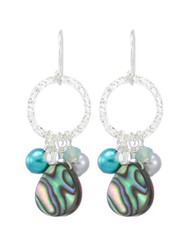Coral Springs Earrings- Aquamarine