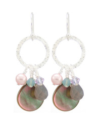 Coral Springs Earrings- Purple