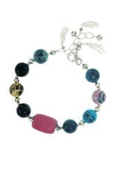 Stingray Leather Bracelet - Multicolored