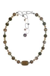 Stingray Leather Necklace