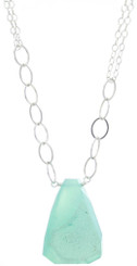 Delhi Necklace- Aqua