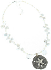 Ship Shoal Necklace- White