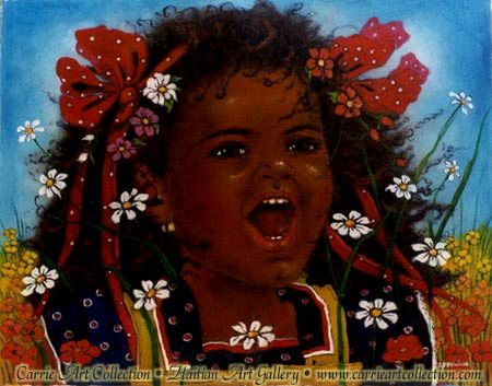 Painting by haitian artist jean bernard etienne for Bernard peintre