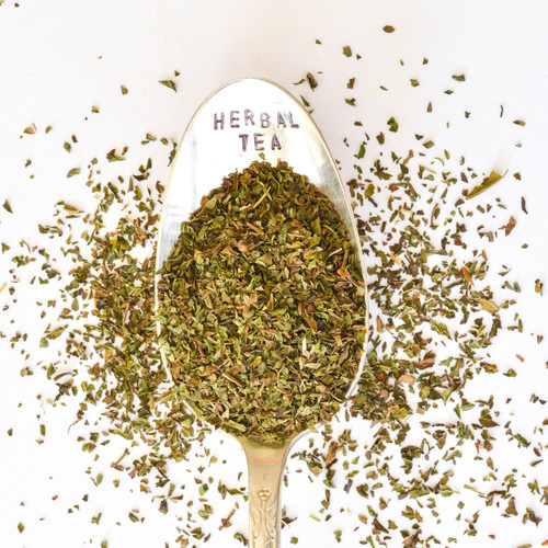 Peppermint Herbal Tea Infusion