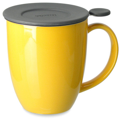 Brew in Mug with Infuser & Lid-Mandarin