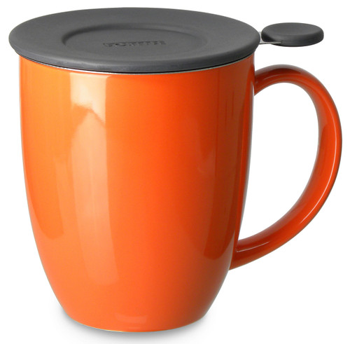 Brew in Mug with Infuser & Lid 16 oz-Carrot
