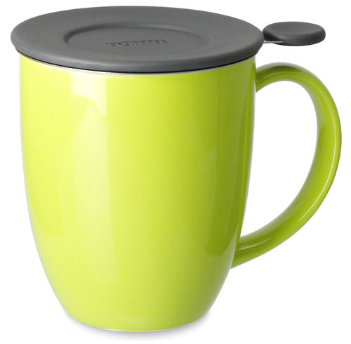 Brew in Mug with Infuser & Lid-Lime