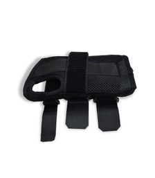 Black Carpal Tunnel Wrist Braces/Supports Close Up view