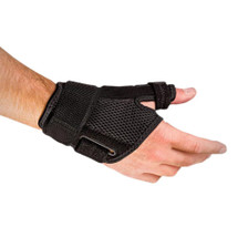 Houseables Reversible Thumb Stabilizer Wrist Brace Support MCP Joint Pain Arthritis Relief - With hand View