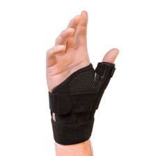 Houseables Reversible Thumb Stabilizer Wrist Brace Support MCP Joint Pain Arthritis Relief - Side View