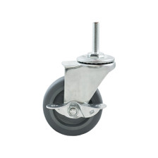 Caster Wheels Set of 4 - Single Wheel View