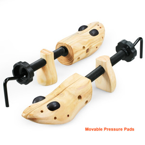 wooden shoe stretcher pair