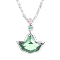 Emerald Ivy Pendant and Sterling Silver Necklace
