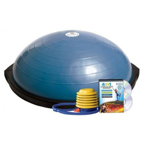 BOSU Total Training System with 4-in-1 DVD & 2 Xplode DVDs