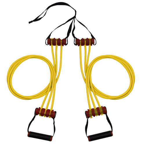Triple Trainer Cable - R7 Resistance Cables - 70lbs - Yellow image