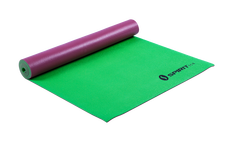 Yoga Mat 24 x 69 x 5mm Maroon/Leaf