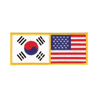 Korean and USA Patch