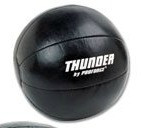 ProForce Thunder Leather Medicine Ball