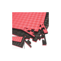 Reversible Puzzle Mats Red/Black
