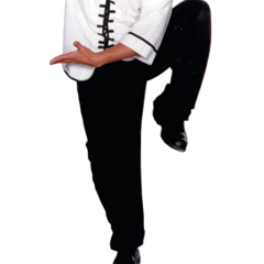 Kung Fu Pants - Black