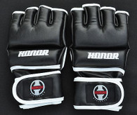 Designed to meet the needs of a Professional cage fighter. Open palm and thumb for additional mobility and grip. 4oz padding over the knuckle. The required hand protection for the pros.