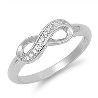 Infinity Rings - Sterling Silver Infinity Ring