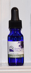 Never be without the soothing scent of lavender.  Our lavender has many uses.  Use our oil on fire ant bites, bee stings, poison ivy, cuts and minor burns.  This pure lavender essential oil helps relieve headaches, promotes restful sleep and can be used to scent your home.