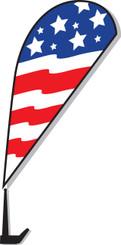 Vehicle Paddle Window Flags