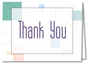 Thank You Cards with Envelopes 5902
