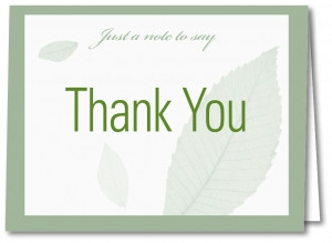 Thank You Cards with Envelopes 5903