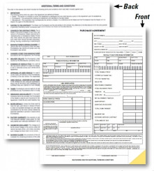Purchase Agreement (Non State Specific)