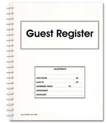Guest Register Book