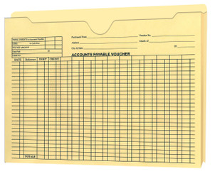"Accounts Payable 1"" Expandable Jacket"