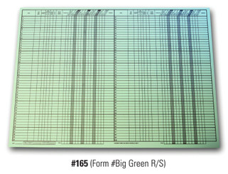 Big Green Route Sheet   Form# Big Green R/S