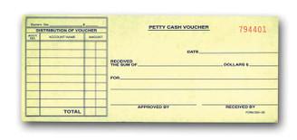 Petty Cash Voucher   Form# DSA 130
