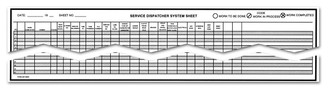 Service Dispatcher System Sheet - Form# SDSS